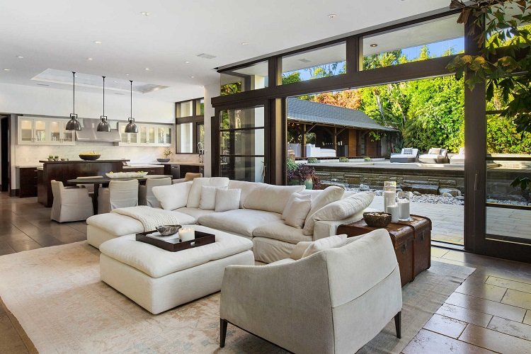 Inside Matt Damon's house in Los Angeles, now on the market for $21 million.
